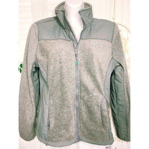 Live Love Dream Women's L Zip Fleece Jacket NEW